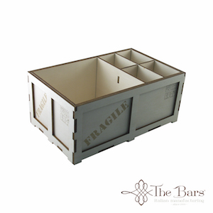 bar caddy en bois thebars