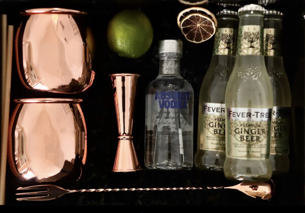 box duo cocktails moscow mule